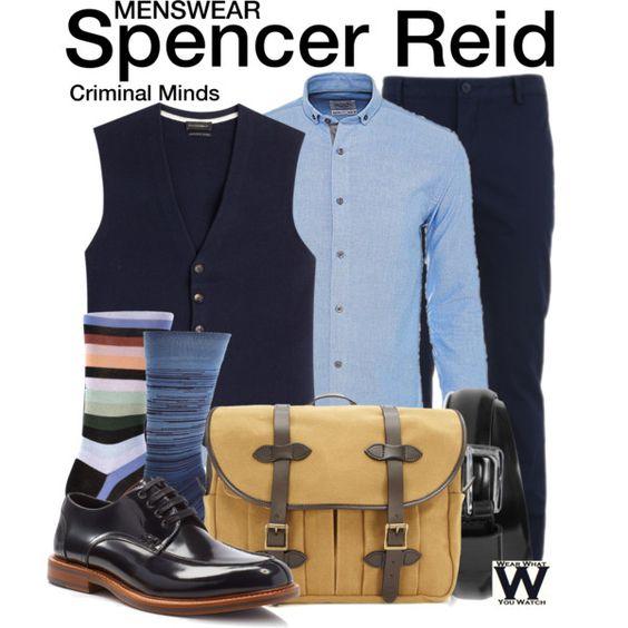 Inspired by Matthew Gray Gubler as Spencer Reid on Criminal Minds.