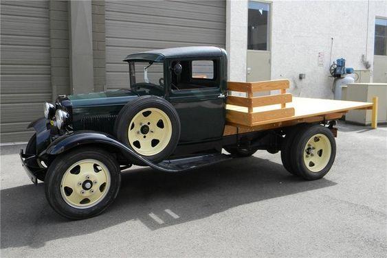 1931 FORD AA 1 1-2 TON FLATBED...