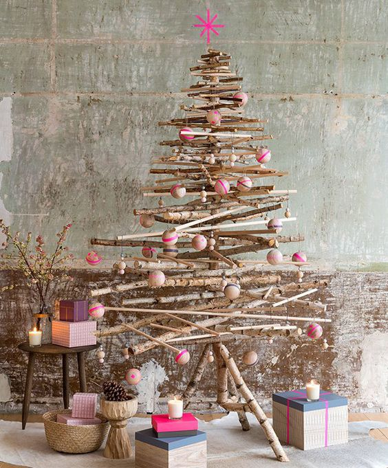 These Alternatives To The Tree Will Give You Ideas For Your Christmas Decor images 4