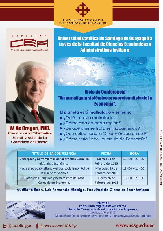 Ciclos de Conferencias Fac. Ciencias Económicas