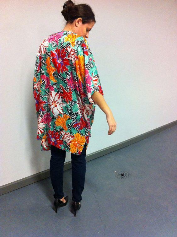 Silky Kimono by JesusSpeak on Etsy, $40.00