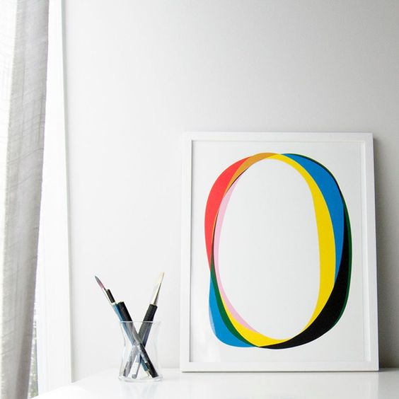 See more images from at home with minted artist christina flowers on domino.com