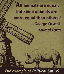 Animal farm as a political satire essay