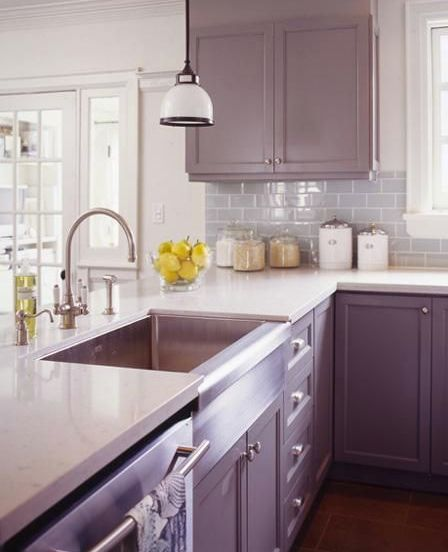 Kitchen #mauvemist #pantone2014