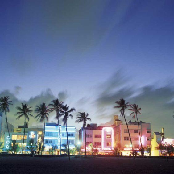 South Beach, Miami Beach, Florida, USA Wall Mural – Large at Art.com