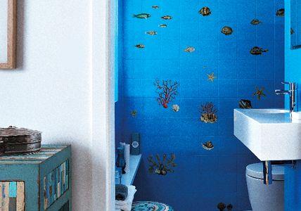 Unterwasserwelt zu Hause