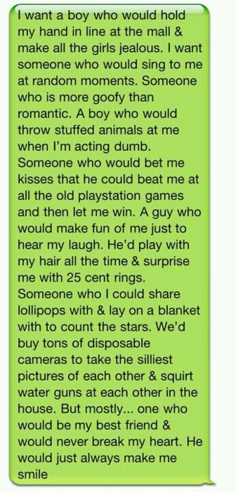 cute things to text your guy crush - Google Search