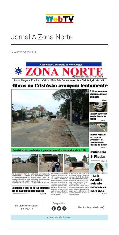 Jornal A Zona Norte