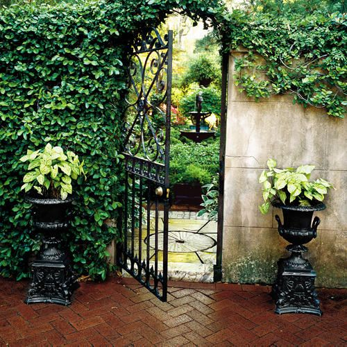 oh what promise....through the garden gate