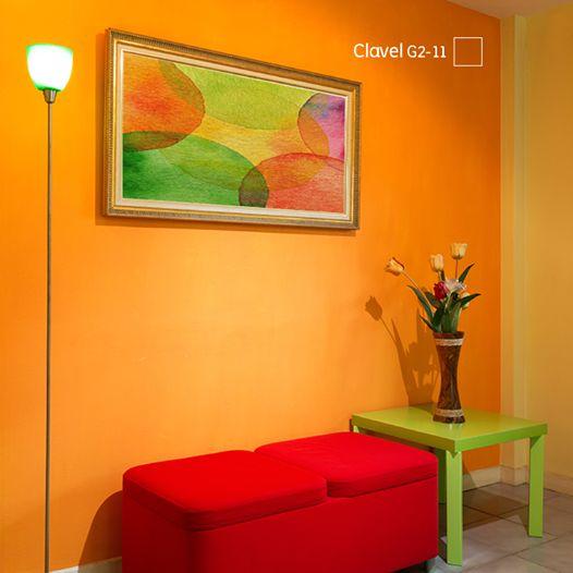 Pinterest el cat logo global de ideas - Color mandarina en paredes ...