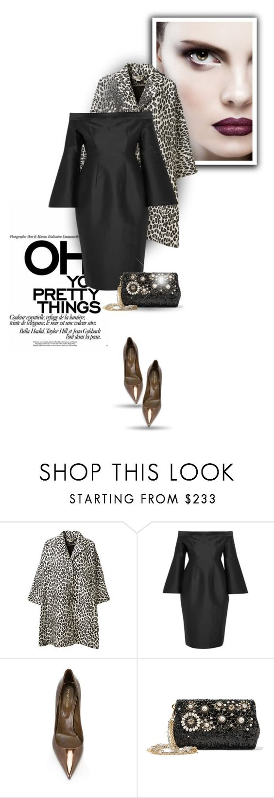 """..."" by bliznec ❤ liked on Polyvore featuring STELLA McCARTNEY, Iris & Ink, Sergio Rossi and Dolce&Gabbana"