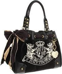 Juicy Couture New Scottie Embroidery Daydreamer Bag