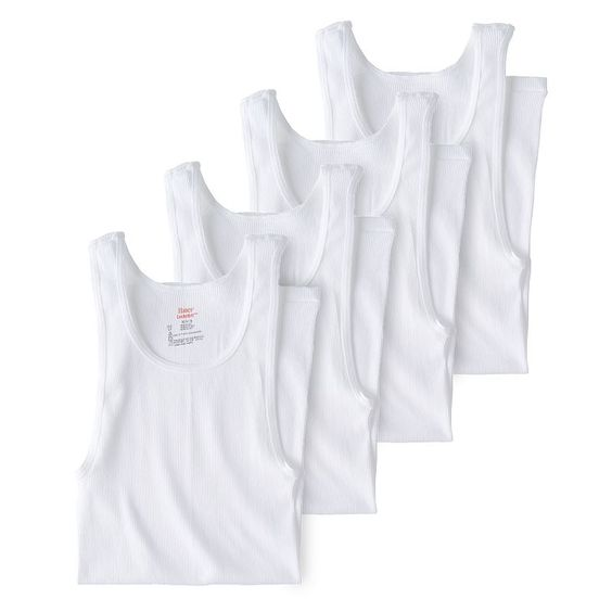 Men's Hanes 4-pk. Tagless Tanks, Size: