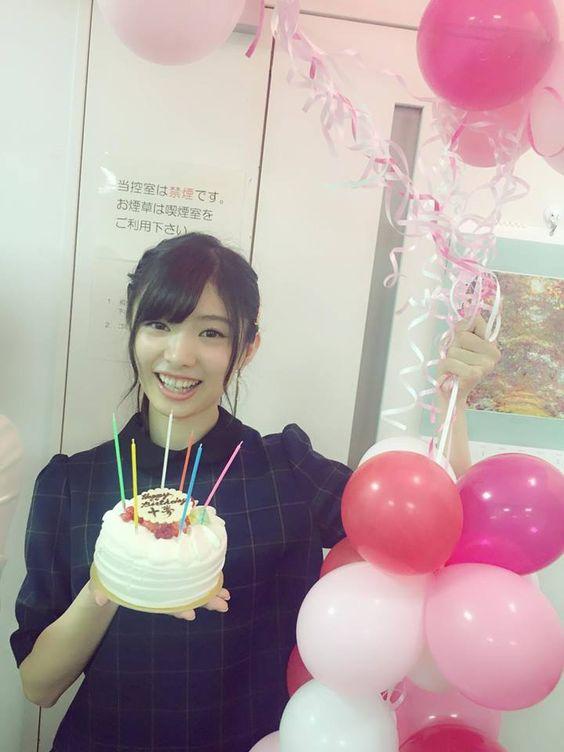 誕生日ケーキと武藤十夢