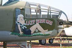 """""""Lazy Daisy Mae"""" #NoseArt"""