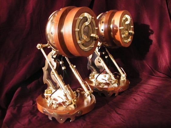 Pure Steampunk from Russia.