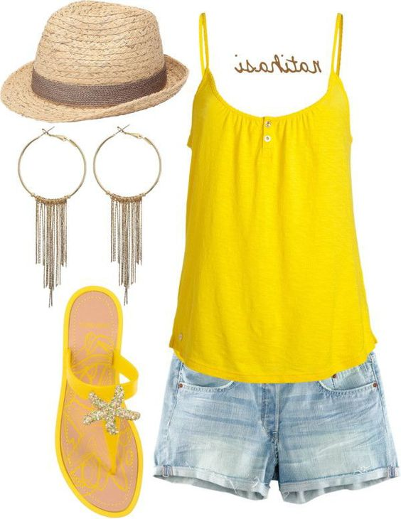 JUICY COUTURE Sunny Yellow Tank