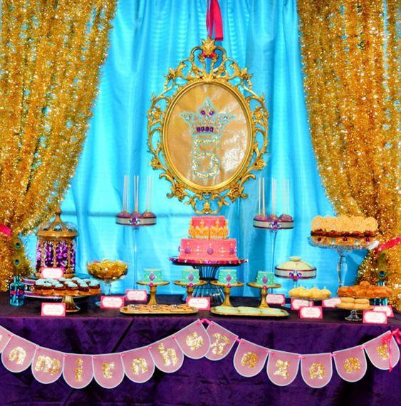 Arabian Nights/Princess Jasmine Birthday Party - Cami WILL have this theme eventually.  I insist.