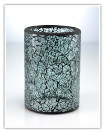 Crackle Clear Glass