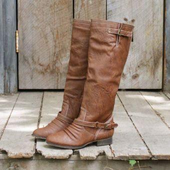 Smokestack Boots in Oak...
