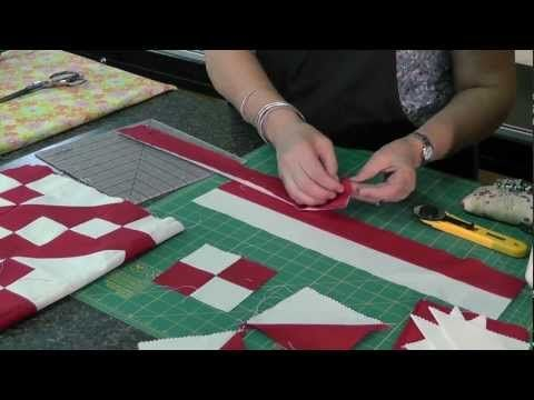 http://missouriquiltco.com - Jenny Doan shows how to make the Jacob's Ladder quilt the easy way!  Using Jenny's tips and pre-cut fabrics, you can make this beautiful quilt.      To get the materials needed to make this project follow the links below.    Solid Precut Fabrics:  http://www.missouriquiltco.com/shop/browse/248    Layer Cakes (best selection...