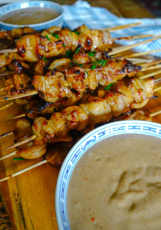 soy sauce chicken fish sauce sesame oil chicken satay thighs the sauce ...