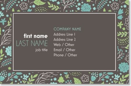 Why You'll Love Hot Pink Flowers Standard Business Cards