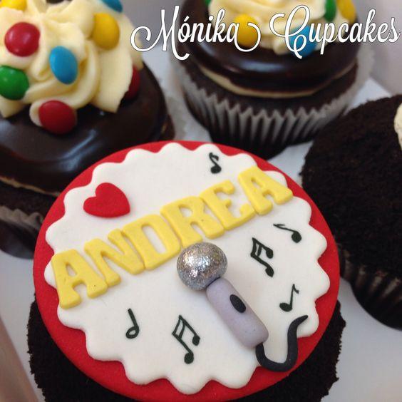 Cupcakes para una cantante!