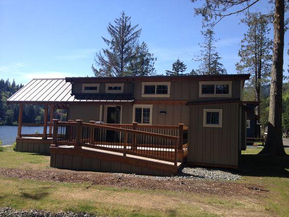Custom park model home