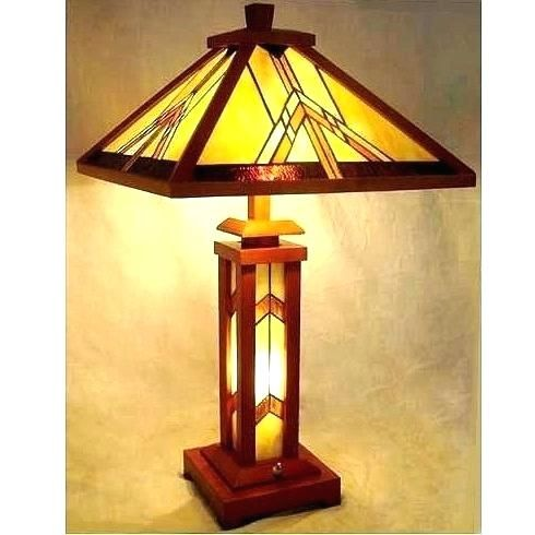 Mission Style Table Lamps Prairie Style Table Lamps Prairie Style