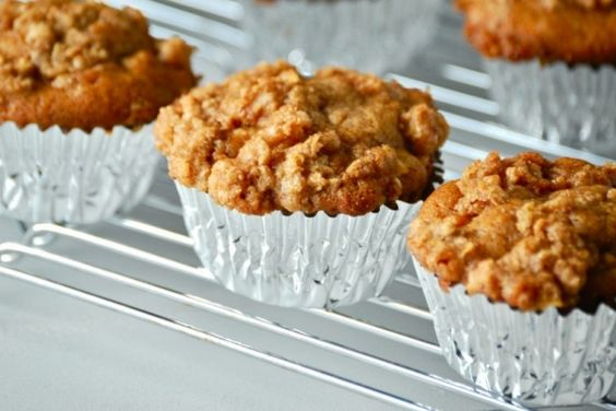 Le muffin favori du moment, celui aux pommes bien sûr!