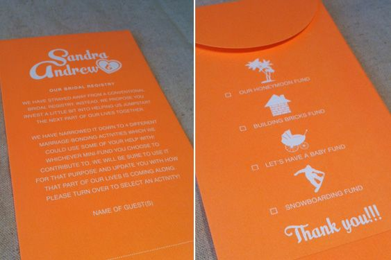 Ways To Ask For Money On Wedding Invitations: Money, Charity And Fun On Pinterest