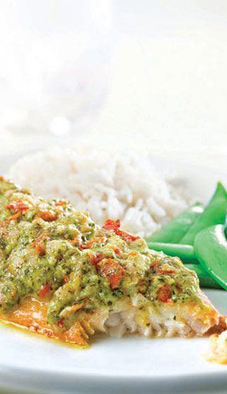 filets de poisson a la provencale #cuisine #recettes