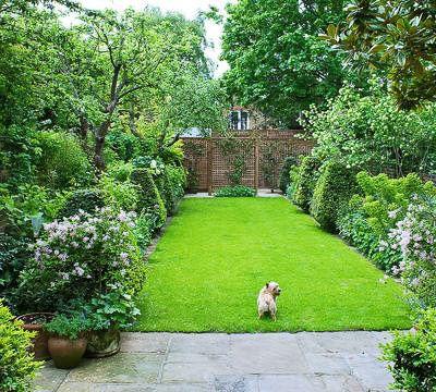 Classic town garden
