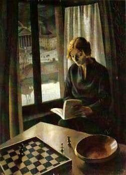 """Interno"" by Gigi Chessa (1895-1935)"