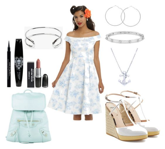 """""""Untitled #67"""" by spookysiren on Polyvore featuring Disney, Fendi, BERRICLE, Anne Sisteron, Giles & Brother, Balenciaga and Givenchy"""