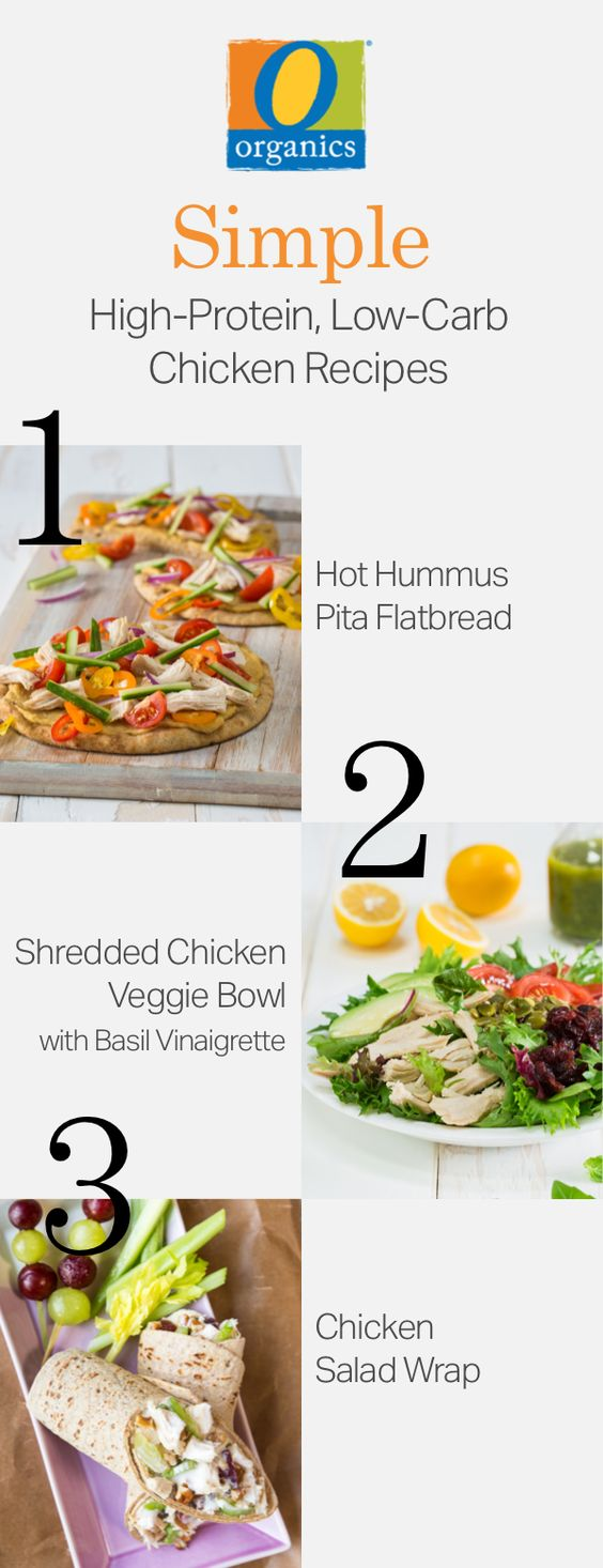 Choose healthier meal prep options for 2017! Prep your O Organics® chicken tonight and enjoy three high-protein recipes this week!