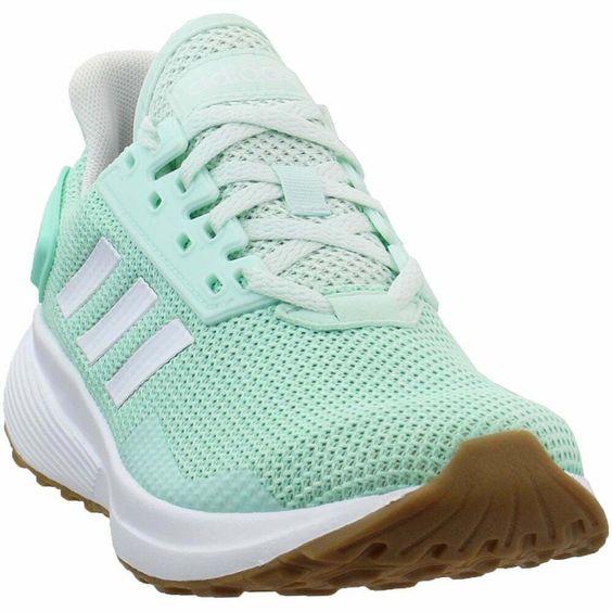 adidas Duramo 9 Casual Running Shoes Blue Womens - Adidas Shoes for Women - Ideas of Adidas Shoes for Women #AdidasShoesforWomen