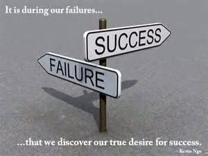 The direction for success and failure