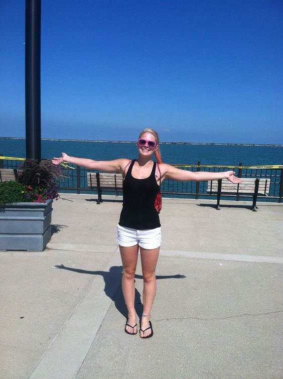 Me in Chicago at the navy pier
