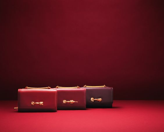 Choose from a selection of leather goods in 3 shades of iconic Valentino red.  Make your piece truly unique by adding your initials or a selection of symbols available in store and online here: http://tinyurl.com/mv4xk6f