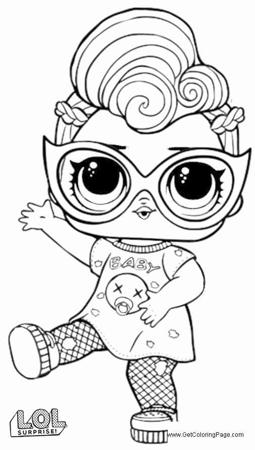 32 Lol Surprise Coloring Page In 2020 Unicorn Coloring Pages