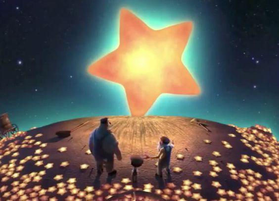 """La luna"""" est un film d'animation signé Pixar. A à la fois poétique et inspirant (il y a de nombreux messages cachés), il apaisera les enfants et les parents et trouvera sa place dans le rituel du coucher en prévision d'une nuit peuplée de doux rêves. :)"""