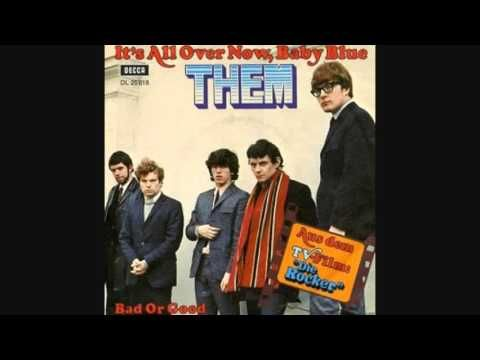 Them It S All Over Now Baby Blue 1966 Bob Dylan Covers Cover Songs Rock Band Photos