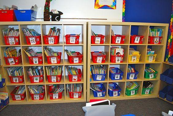 Dream classroom library