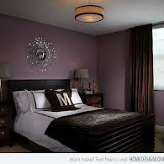 purple chocolate brown decor home pinterest brown