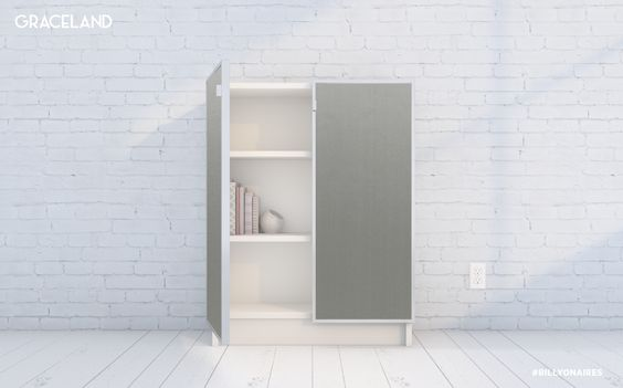 Billyonaires The Look For Less With Images Ikea Billy White Shelves Furniture Finishes