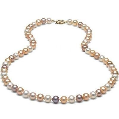 "Nature 7-8mm Freshwater Multicolor Pearl 18"" Necklace 14k Solid Yellow Gold  https://t.co/jiiFX2RNpN https://t.co/Hj9c4gwYjc"