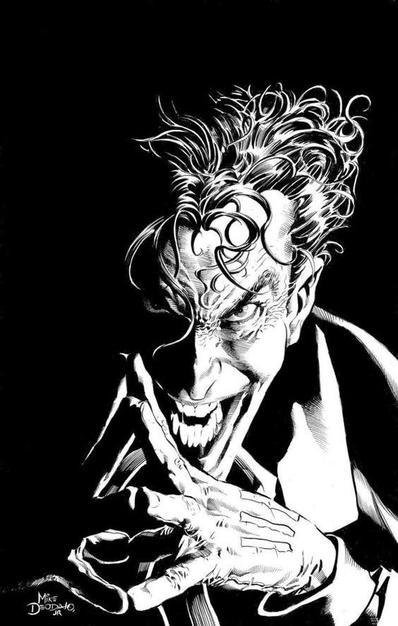 Joker Pin-up Pencil by ~MikeDeodatoJr
