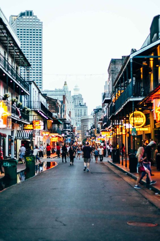 New Orleans in the summer